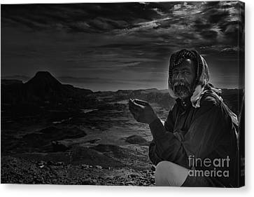 Orientalists Canvas Print - bedouin Abo Talal by Ahmed Shafy