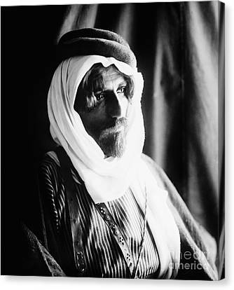 Bedouin Man, C1910 Canvas Print by Granger