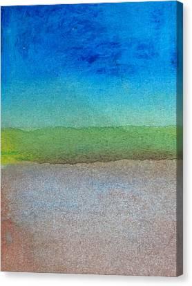 Bedrock Canvas Print