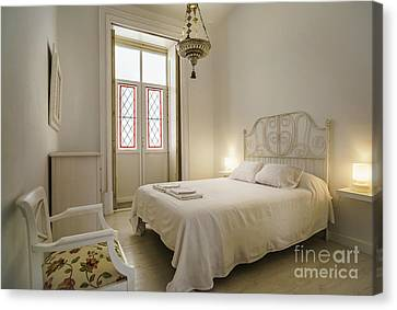 Canvas Print featuring the photograph Bedroom Apartment In The Heart Of Cadiz by Pablo Avanzini