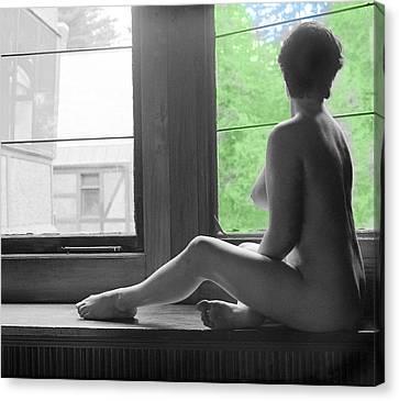 Bedroom Window Canvas Print