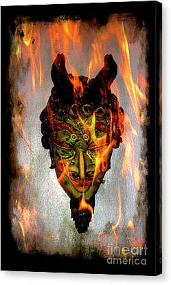 Canvas Print featuring the photograph Beelzebub Iv by Al Bourassa