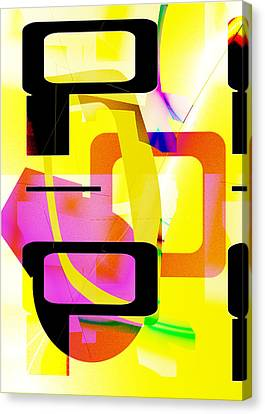 Sanfrancisco Canvas Print - Beep Boop by Mindy Newman