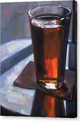 Beer At Vesuvios Canvas Print