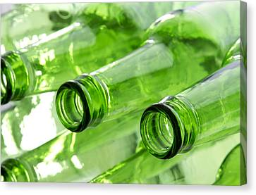 Beer Bottles Canvas Print by Blink Images