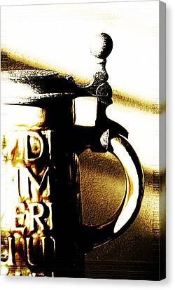 Beer Stein Canvas Print by Simone Hester