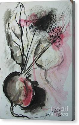 Beet Canvas Print by Jamey Balester