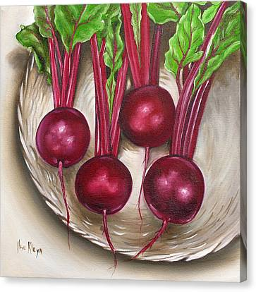 Beetroot Canvas Print by Ilse Kleyn