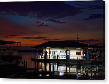 Before Sunrise Canvas Print by Diana Mary Sharpton