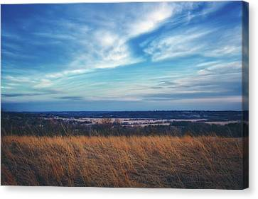 Before Sunset At Retzer Nature Center - Waukesha Canvas Print by Jennifer Rondinelli Reilly - Fine Art Photography