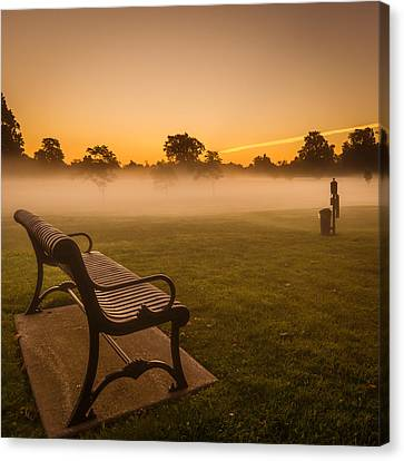 Before Tee Time Canvas Print