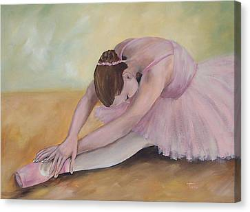 Before The Ballet  Canvas Print by Torrie Smiley