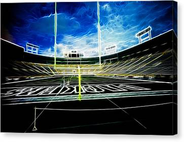 Before The Big Game Canvas Print by Lawrence Christopher