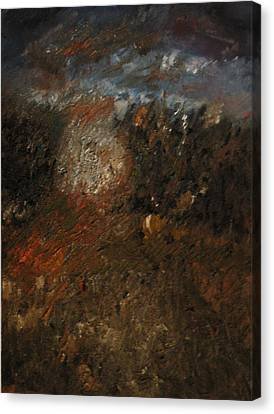 Before The Storm Canvas Print by Gyorgy Szilagyi