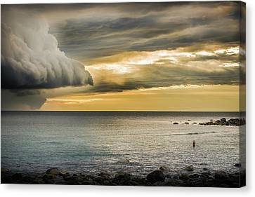 Before The Storm Canvas Print by Jonas Forsberg