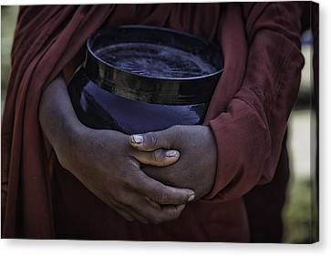 Horizontal Canvas Print - Begging Bowl 1 by David Longstreath