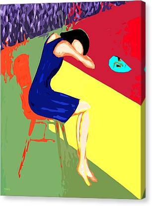 Behind Closed Doors Canvas Print by Patrick J Murphy