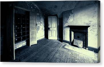 Behind The Door Canvas Print by Svetlana Sewell