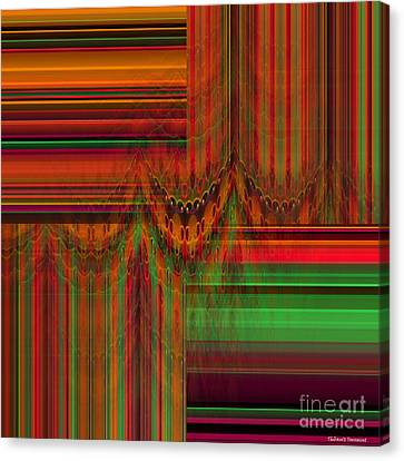Behind The Drapes Canvas Print by Thibault Toussaint