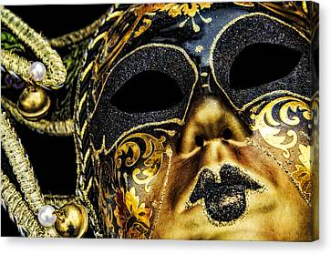 Behind The Mask Canvas Print by Carolyn Marshall