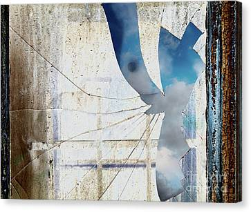 Behind The Window Canvas Print by Michal Boubin