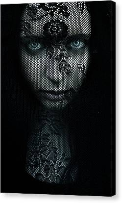 Behind Canvas Print by Cambion Art