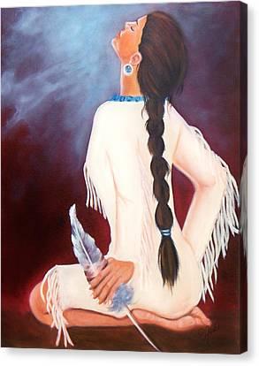 Behold The Spirit Canvas Print by Joni McPherson