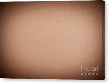 Beige Cardboard Textured Abstract Canvas Print by Arletta Cwalina