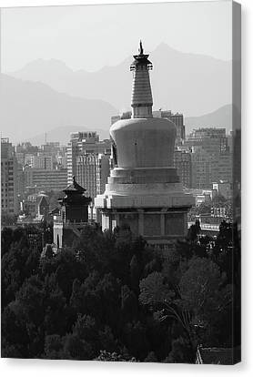 Beijing City 3 Canvas Print by Xueling Zou