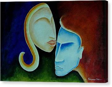 Being Together Canvas Print by Mrutyunjaya Dash