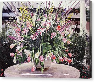 Canvas Print - Bel-air Bouquet by David Lloyd Glover