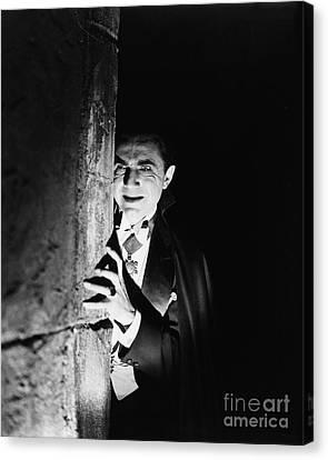 Bela Lugosi Dracula Canvas Print by R Muirhead Art