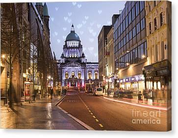Belfast Canvas Print - Belfast by Juli Scalzi