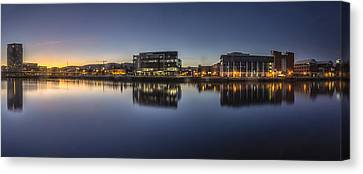 Belfast Near The Docks Canvas Print