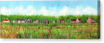 Belford's Nj Skyline Canvas Print