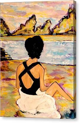 Believe Canvas Print by Helena Bebirian