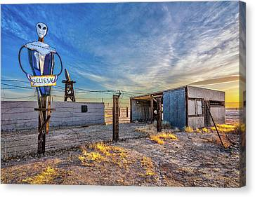 Believe Canvas Print by Peter Tellone