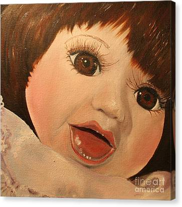 Belinda Canvas Print by Jane Autry
