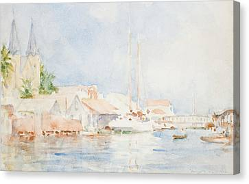 Belize Canvas Print by Henry Scott Tuke