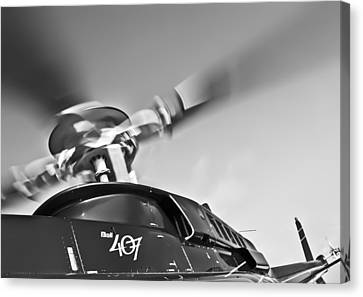 Bell 407 Canvas Print by Patrick M Lynch