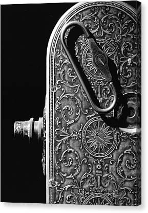 Canvas Print featuring the photograph Bell And Howell Camera by Jim Mathis
