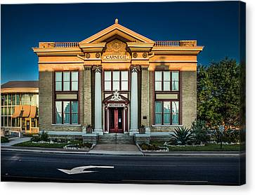 Bell County Museum Canvas Print by Jim Painter
