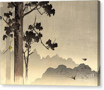 Bell Hanging From Tree 1907 Canvas Print by Padre Art