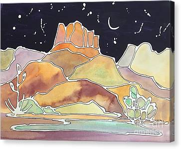 Bell Rock Canvas Print by Barbara Tibbets