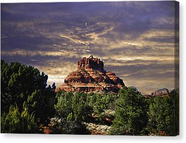 Bell Rock In Hdr Canvas Print by Frank Feliciano