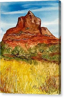 Arizonia Canvas Print - Bell Rock Sedona Arizona by Ellen Levinson