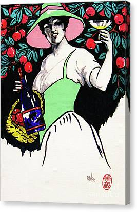 Belladonna And Apples Canvas Print by Roberto Prusso