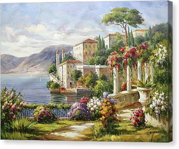 Bellagio, Lago Di Como Canvas Print