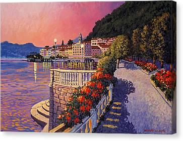 Bellagio Lake Como Canvas Print by Santo De Vita