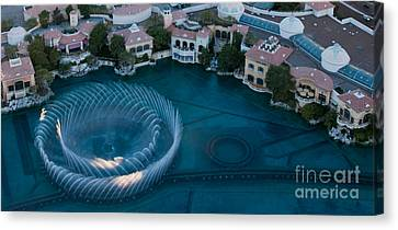 Bellagio Shoreline Canvas Print by Andy Smy